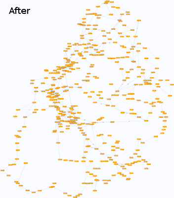 debug graph after